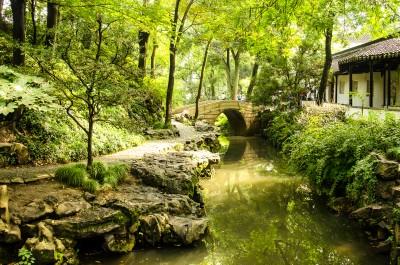 Jardins classiques à Suzhou