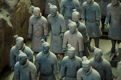 Mausolée de l'empereur Qin à Xi'an