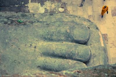 Pied de Buda de Leshan