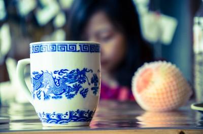 La porcelaine chinoise toujours près du the